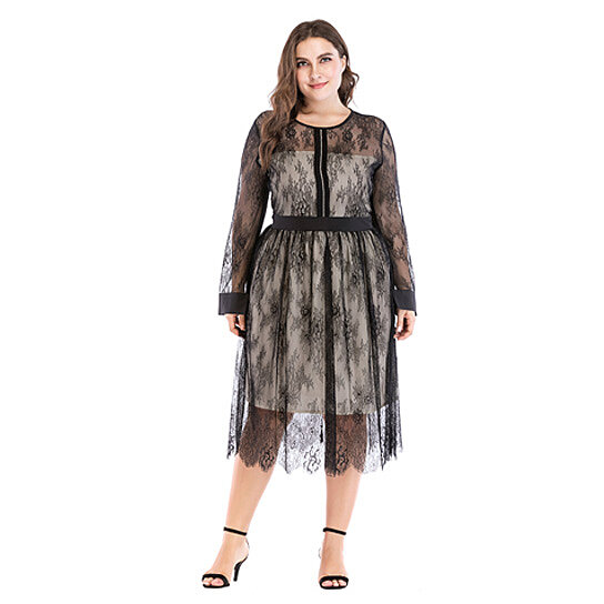 9d3d2b91436b1 Trending product! This item has been added to cart 97 times in the last 24  hours. Women's Plus Size Midi Cocktail Dress