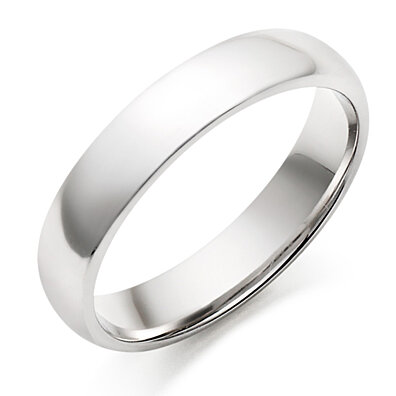 316L Stainless steel Mirrored Polished Band Ring