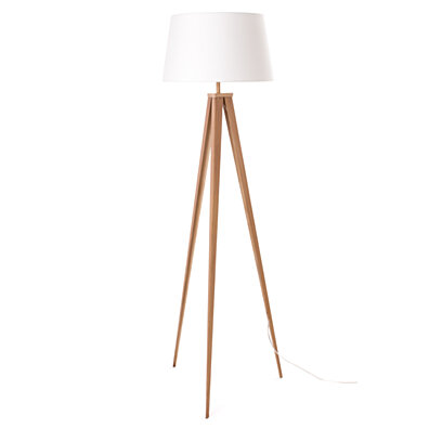 "Euro Style Collection Berlin 60"" Tripod Floor Lamp,"