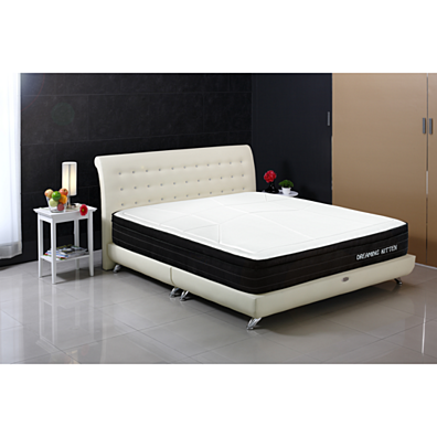 Euro Style Collection Twin Gel Memory Foam Mattress Perfect Firmness Bamboo  Fabric Topper. Home   Furniture   Bedroom   Mattresses