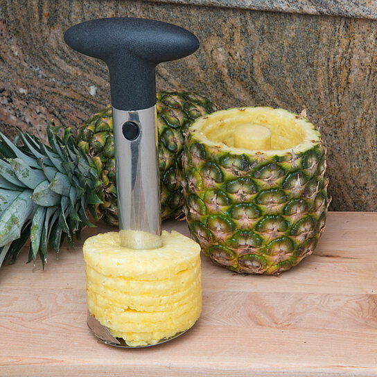 buy evelots 3 in 1 stainless steel pineapple peeler slicer corer kitchen tools by evelots on. Black Bedroom Furniture Sets. Home Design Ideas