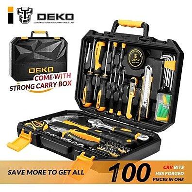 DEKO 100 Piece Tool Kit