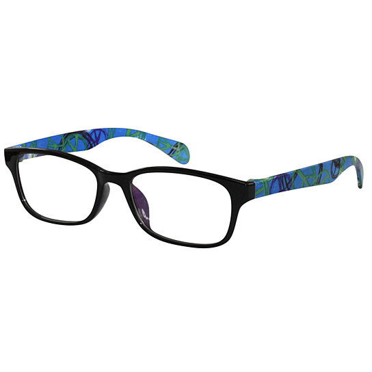 Buy Ebe Bifocal Wayfarer Eye Glasses RX Women Men Blue ...