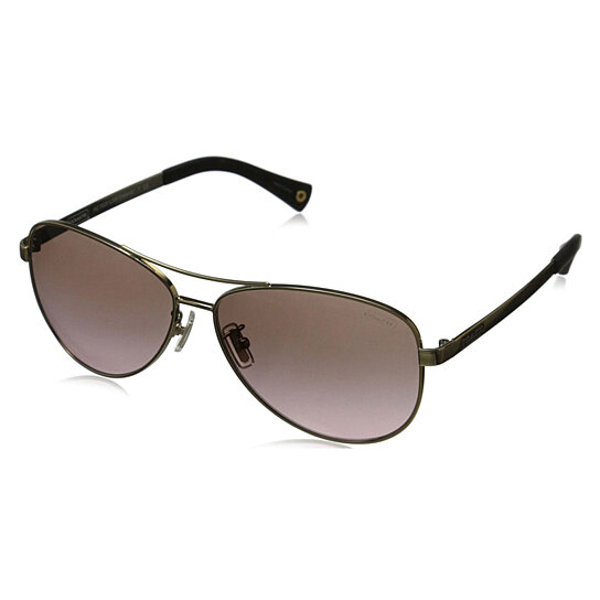 bc9906598b Buy Coach Women s HC7025 L055 Stefanie 9013T5 Metal Pilot Polarized  Sunglasses by Eyewear4You on OpenSky
