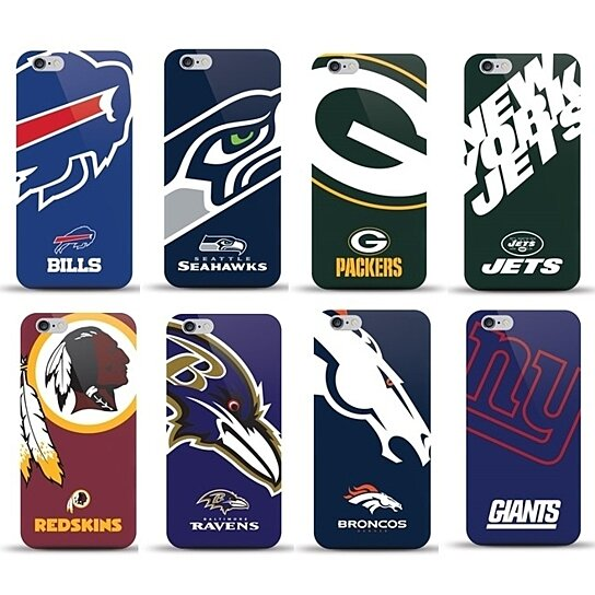 Buy Nfl Snap On Shell Case For Iphone 6 Or 6 Plus By Eyn