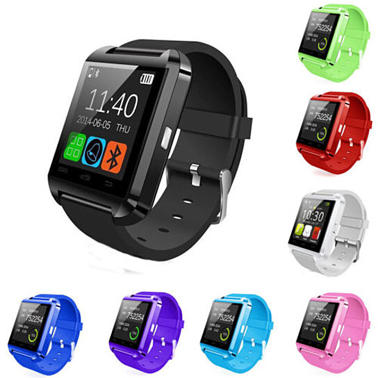 b58ef4fd84 Trending product! This item has been added to cart 17 times in the last 24  hours. New Bluetooth Smart Wrist Watch Phone Mate For Android ...