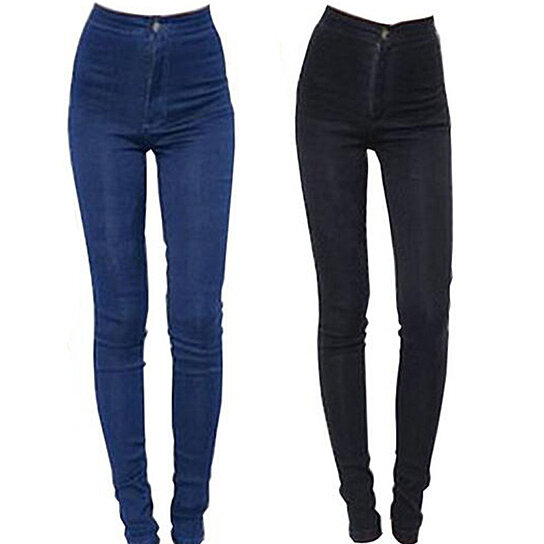 84f10dd82 Trending product! This item has been added to cart 30 times in the last 24  hours. Jeans Women Pencil Pants High Waist ...
