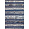 Fab Habitat - Indoor Cotton Rug - Ethos - Blue