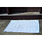 Fab Habitat - Indoor Cotton Rug - Zen - Eventide & Bright White
