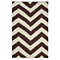 Fab Habitat - Indoor Cotton Rug - Lexington - Coffee & Beige