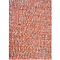 Fab Habitat - Indoor Cotton Rug - Toledo - Rust