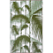 Fab Habitat Indoor/Outdoor Plastic Rug - Havana - Green