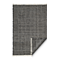 Fab Habitat - Indoor/ Outdoor Rug - Lancut in Charcoal - PET