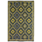 Fab Habitat Indoor/Outdoor Rug - Lhasa - Empire Yellow & Gray