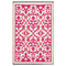 Fab Habitat Indoor/Outdoor Rug - Venice in Cream & Pink