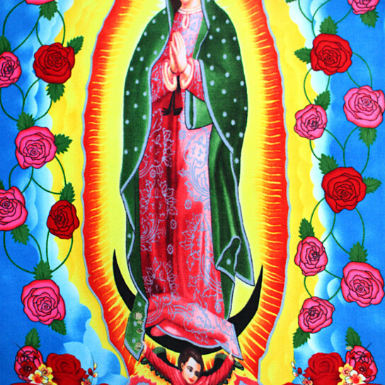 Buy Virgin Of Guadalupe Panel Anti Pill Polar Fleece