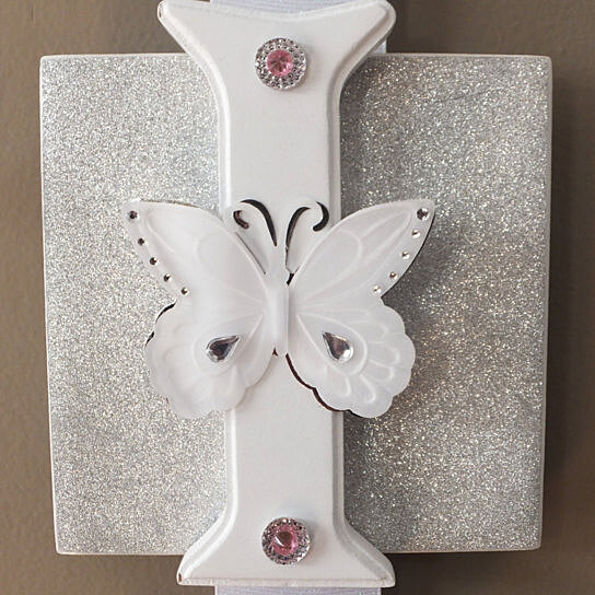 Baby Gift Name Plaque : Buy name plaque letter pink and gray baby wall