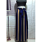 Women Fashion High Waist Trouser Striped Casual Loose Long Wide Leg Pants