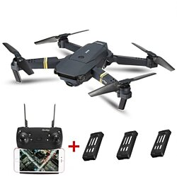 WIFI FPV With Wide Angle HD Camera High Hold Mode Foldable Drone