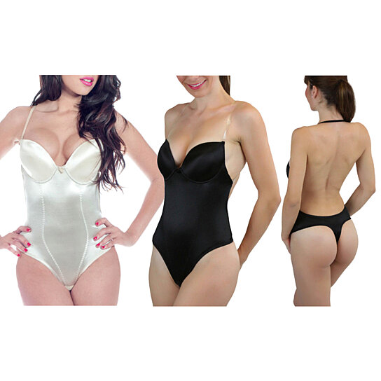 9cf291c725e Trending product! This item has been added to cart 6 times in the last 24  hours. Women s Multiway Thong Backless Body Shaper