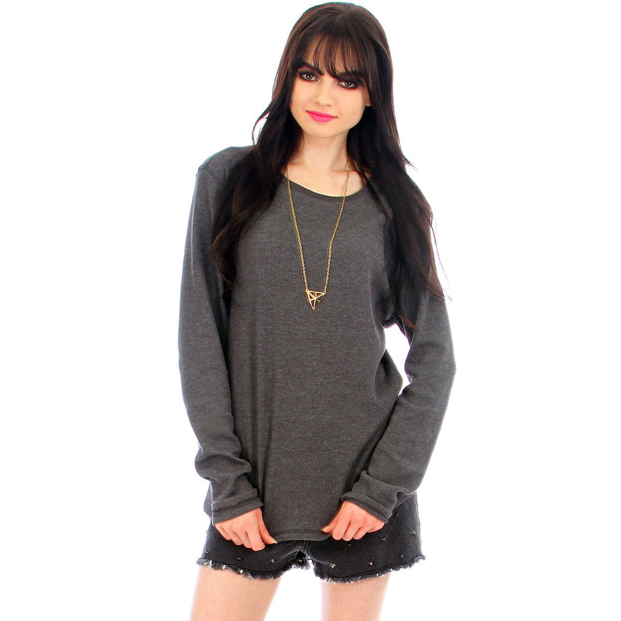 Long Sleeve Thermal Tops - Grey, Small 54ca78a3493d6fa4020007e9