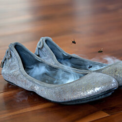 Flat Liners: footwear odor killers THIN stinky smelly shoe neutralizers