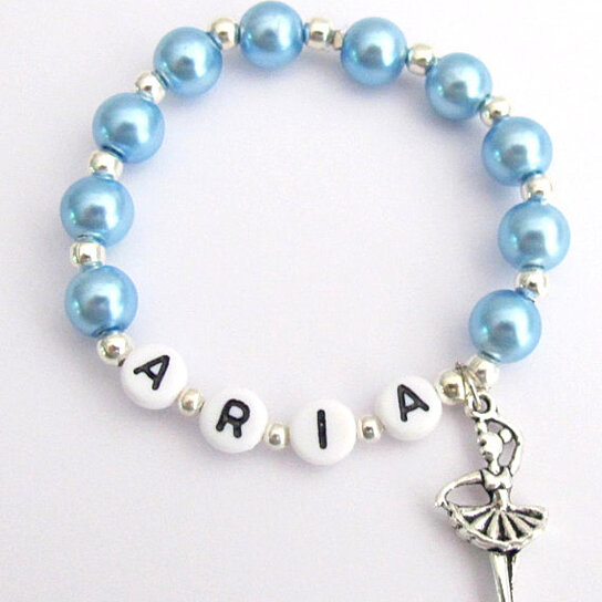 Ballet Dance Bracelet Personalized Ballerina Recital Free Shipping In By Fashion Jewelry For Everyone On