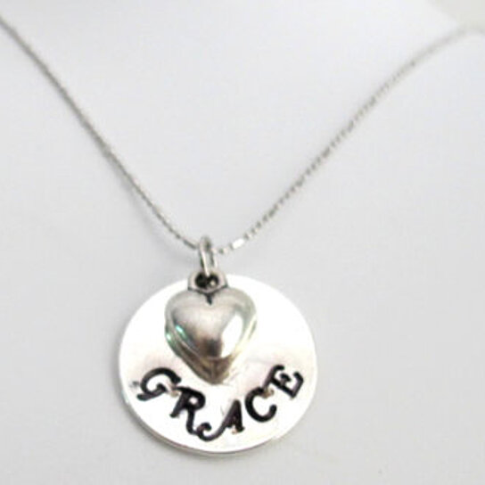 buy handsted name pendant necklace child name with