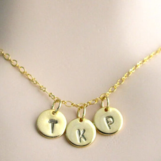 Weight Lifting Equipment In Honolulu: Buy Initial Necklace, Personalize Initial Gold Necklace