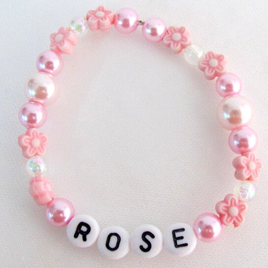 Party Favors Girls Name Bracelet Birthday Return Gifts Order Girl For Free Shipping In USA