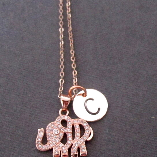 Buy rose gold elephant necklacerose gold elephant jewelrytiny rose buy rose gold elephant necklacerose gold elephant jewelrytiny rose gold elephant charmbridesmaid gift minimalist necklace by fashion jewelry for aloadofball Gallery