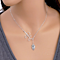 Adorable Little Owl Lariat Style Necklace
