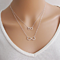 Double Infinity Layered Necklace