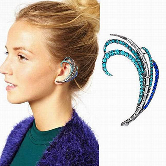 buy flare ear cuff earring by 1 humble abode on opensky. Black Bedroom Furniture Sets. Home Design Ideas