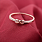 Infinite Love Ring with CZ Diamonds