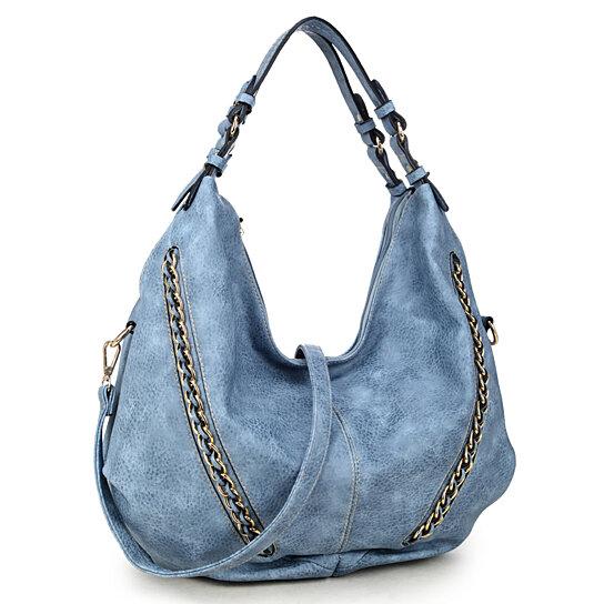 0b2480179b33 Buy Dasein Soft Water wash Faux Leather Vintage Dual Handle Hobo Bag Shoulder  Bag by Fashlets on OpenSky