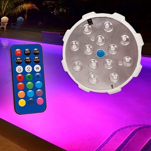Waterproof Magnetic LED Color Changing Pool Decor Light