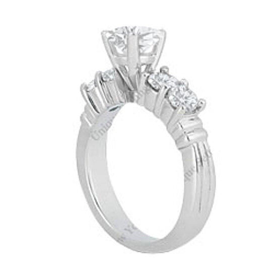 buy high quality of aaa cubic zirconia engagement ring in