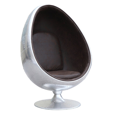 Fine Mod Imports Restro Chair, Brown