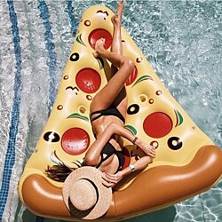Floatie Kings Pizza Pool Float