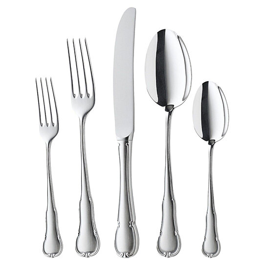 buy wmf barock 84 piece cromargan 18 10 stainless steel flatware set service for 12 by for my. Black Bedroom Furniture Sets. Home Design Ideas