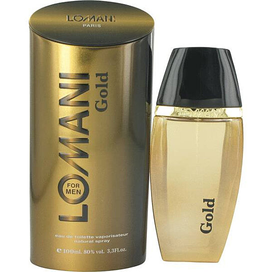 Buy Lomani Gold Cologne By Lomani 3.4 Oz EDT Spray For Men by ...