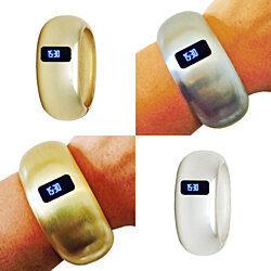 Fitbit Bracelet for Fitbit Charge or Charge HR Fitness Trackers - The EVELYN INSIGHT Fitbit Bracelet for Small Wrists