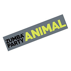 Zumba Fitness Party Animal Bumper Sticker