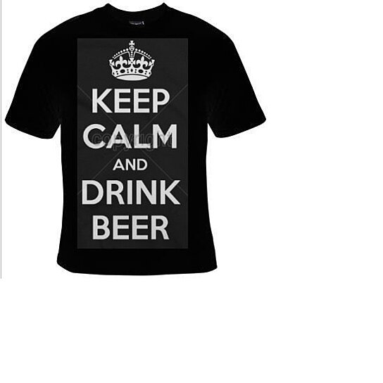 Buy Keep Calm And Drink Beer Tshirts Funny Coolest T Shirt