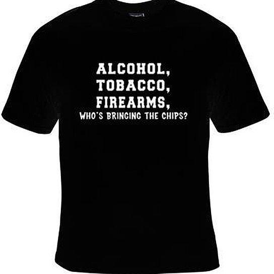 Buy TShirtsalcohol Tobacco Firearms Tee T Shirts Cool