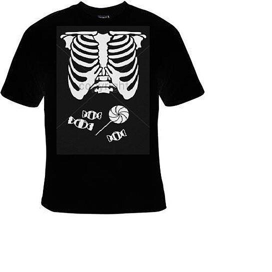 Buy Tshirts Candy Belly Ribs Bones Skulls Tshirts Clothes