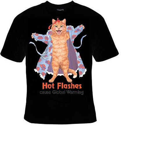 Buy TShirts: hot flashes cat in dress Tshirts cool funny t ...
