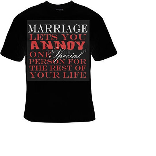 Buy Tshirts Marriage Lets You Annoy One Special Person