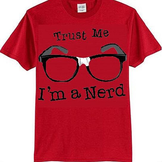 Buy Tshirts Trust Me Im A Nerd T Shirts Geeky Tshirt